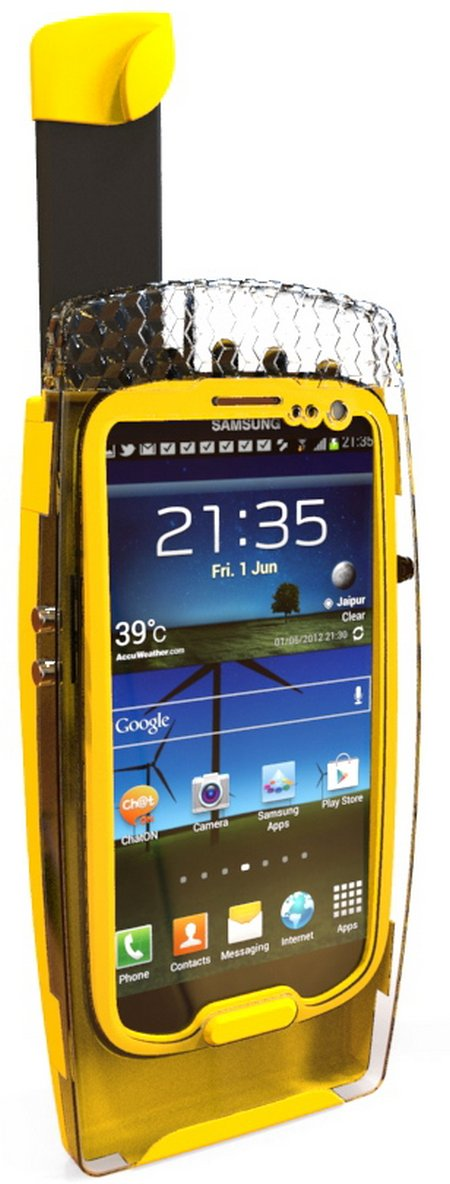 SATcase Bright Yellow